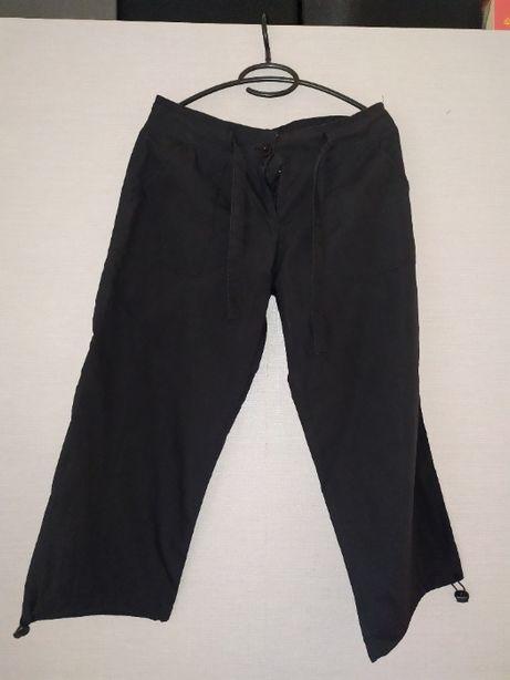 Czarne spodnie alladynki