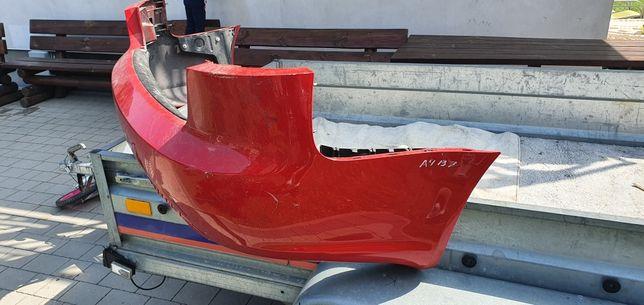 Zderzak tył Audi A4 B7 Avant/Kombi ze ślizgami.