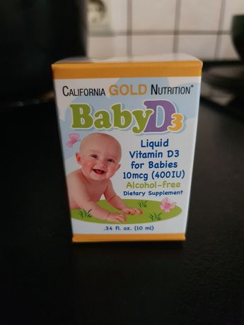 Витамин Д для детей D3