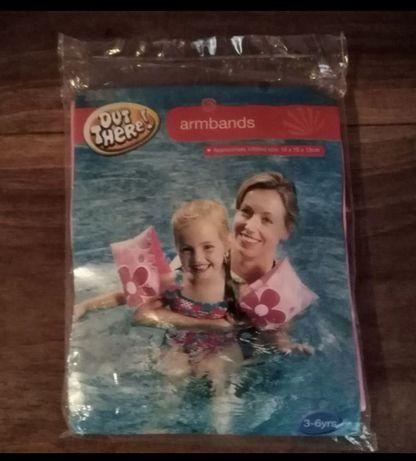 Нарукавники для плавания, для девочки