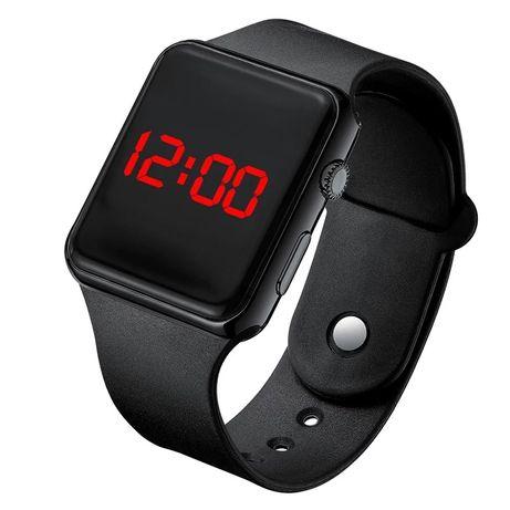 Silikonowy Zegarek damski Led