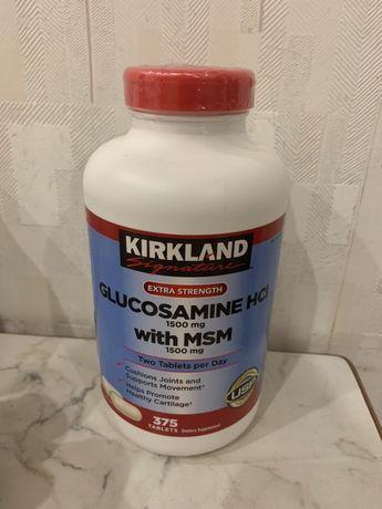 GLUCOSAMINE HCI 1500 mg with MSM 1500 mg 375 tablets