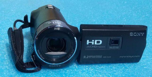 Kamera SONY HDR-PJ410 / projektor + microSD 64 GB + drugi aku + torba