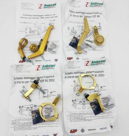 Крепление демпфера руля Honda/Yamaha YZF R6, YZF R1, CBR 600 Италия