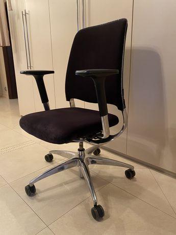 Fotel biurowy welurowy SITAG damski glamour