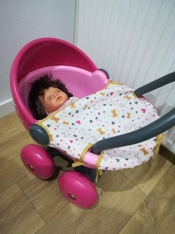 Wózek  z lalką super