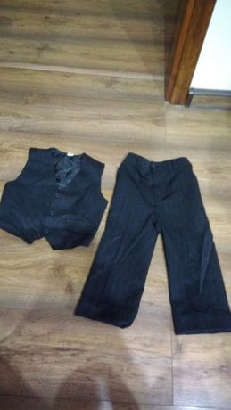 Spodnie + kamizelka chłopczyk rozmiar 98