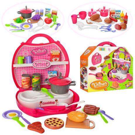 Ігровий набір - кухня з інвентарем в чемоданчику