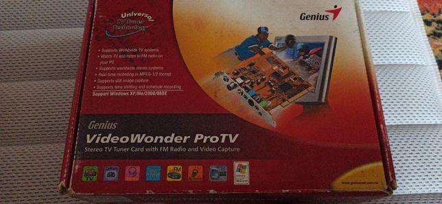 ТВ Тюнер для ПК Genius Video Wonder Pro TV с FM-тюнером (PCI)