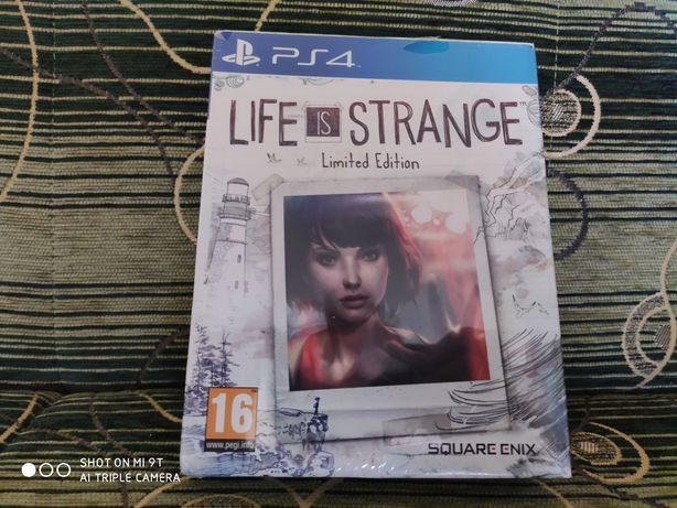 Life is Strange Limited Edition ps4, nowa, folia