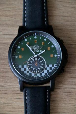 Zegarek Yazole dla fana motoryzacji, licznik, motorsport, na pasku
