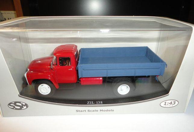 Газ ЗИЛ 138 коллекционная модель авто 1:43