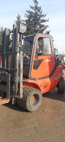Wózek widłowy Linde H40T / Gaz/ Udźwig 4 tony