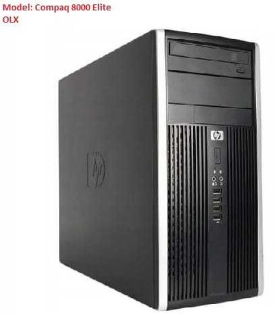 Komputer HP 8000 Q9400 4 rdzenie 4GB 1500GB DVDRW Win10 PRO DDr3