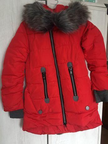 Женская зимняя куртка пуховик удлиненная. Размер М.Бесплатная доставка