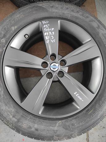 340 Felgi aluminiowe VOLVO R 19 5x108 otwór 63,3 Bardzo Ładne
