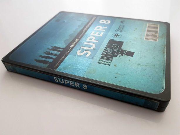 SUPER 8 / 2x blu ray / STEELBOOK / wydanie ITA / brak PL