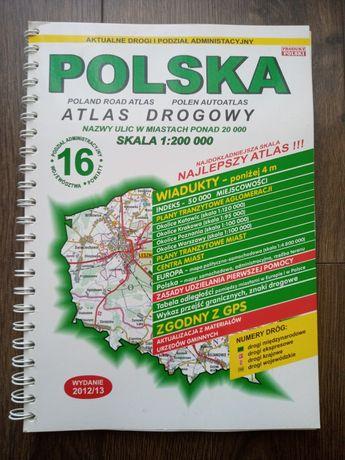 Atlas drogowy Polski
