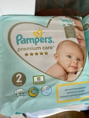 Памперсы pampers premium care 2 24 шт