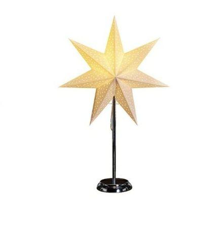 Lampa stojąca gwiazda świąteczna 40cm śr.