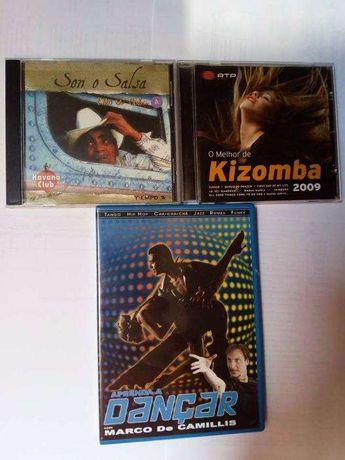 Pack DVD e CD's dança