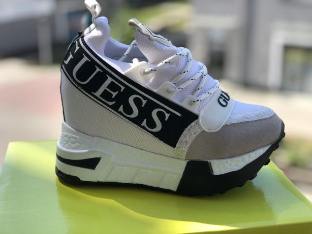 Nowe Buty GUESS Sneakersy na koturnie 36 - 40 Natychmiastowa wysyłka