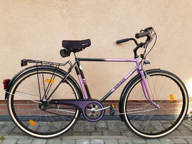 Rower męski miejski HERCULES Koła 28 SHIMANO okazja RETRO