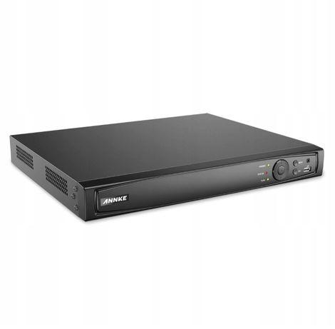 Rejestrator sieciowy IP HIKVISION OEM ANNKE 4k 8Mpx 16 kanałów POE