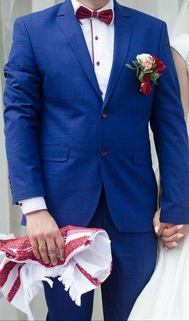Костюм чоловічий весільний костюм костюм на випуск  класичний костюм