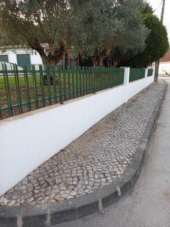 Grade de vedação para muro em ferro