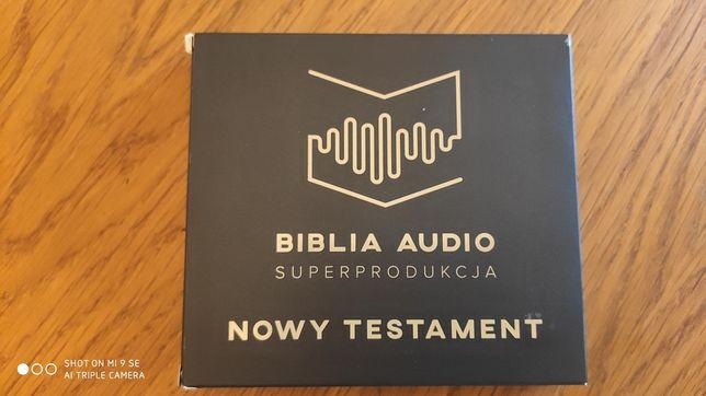 Biblia audio superprodukcja Nowy Testament CD