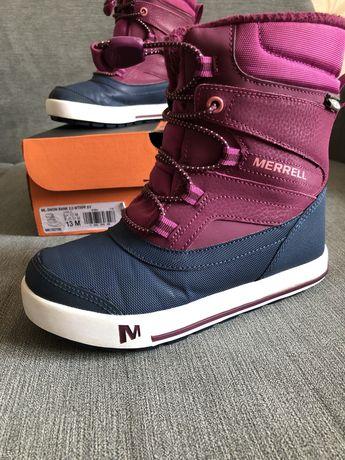 Продам десткие ботинки Merrell