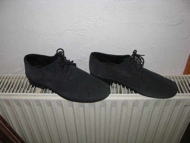 Buty komunijne, pantofle skóra