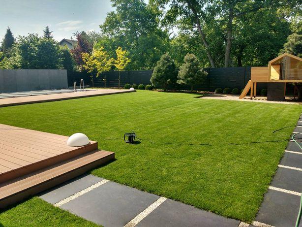 Budowa ogrodów, ogrody nowoczesne, geometryczne, industrialne