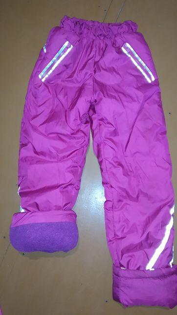Продам теплі зимові штанці на 5-7 років