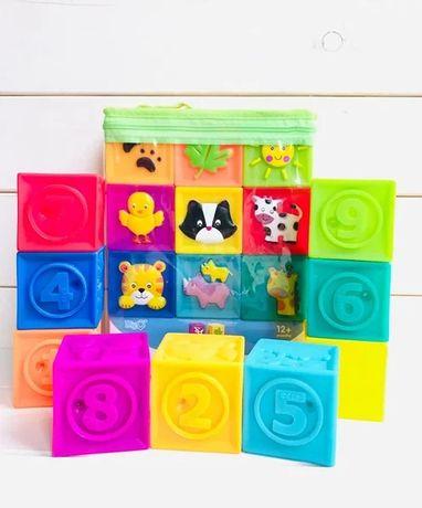 силиконовые Тактильные кубики