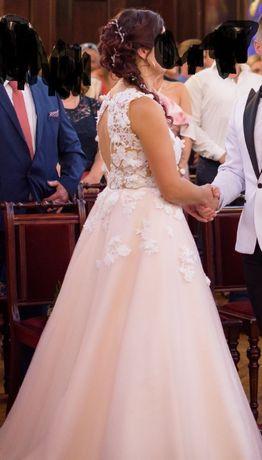 suknia ślubna EVA LENDEL 38/40 sukienka ślub wesele szyta na zamowieni
