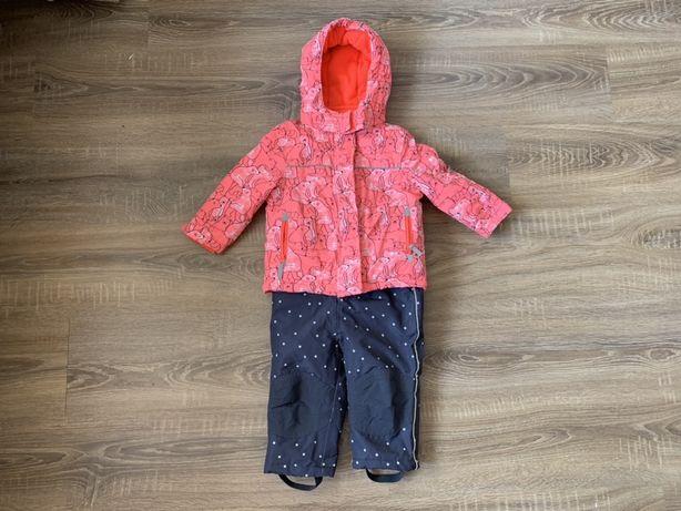 Зимний термо комбинезон куртка Topolino 80-86 размер 1,5-2 года
