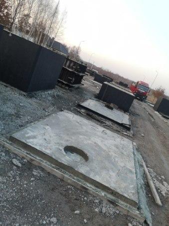 Zbiornik betonowy na gnojówkę gnojowice gnoj szambo odchody ścieki10m3