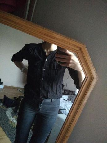 Czarna koszula no name rozm. 38