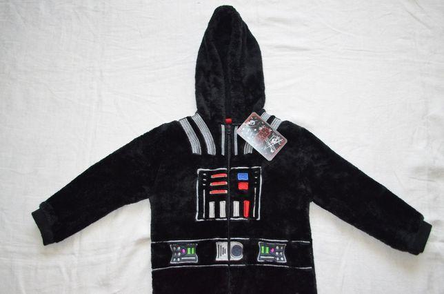 Новый костюм Дарт Вейдер пижама 4-5л Star Wars Звездные Войны кигуруми