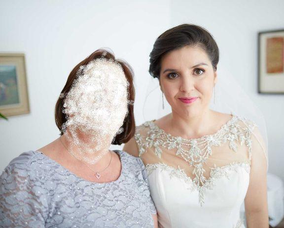 Suknia ślubna z trenem Justin Alexander (model Sincerity 3952)