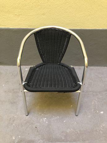 Cadeira de exterior (esplanada, jardim) ou interior de alumínio