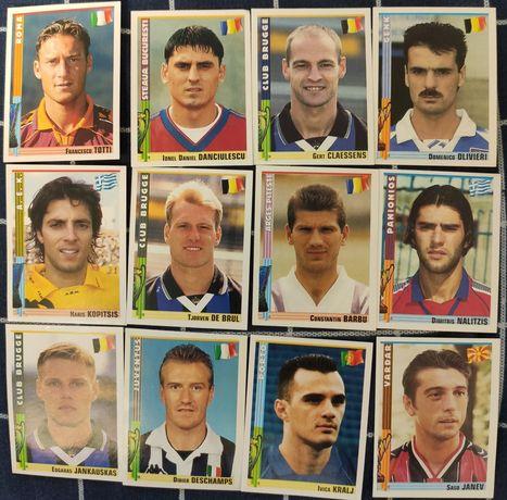 Наклейки футбол panini euro Football 1998-99