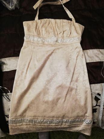 Sukienka kremowa r.42