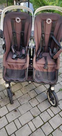 Коляска для двойни Bugaboo donkey twin комплект + maxi-cosi isofix