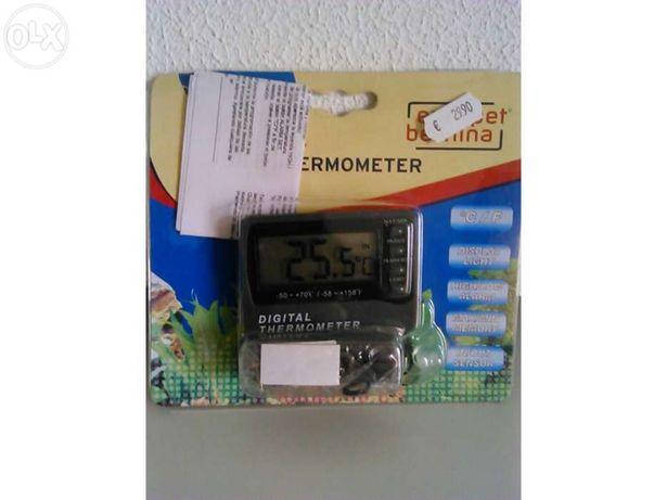 Termometro digital externo c/ alarme (novo)