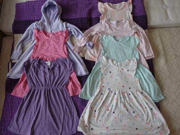 Zestaw sukienek 98/104 10 szt. H&M Reserved Cubus Frozen