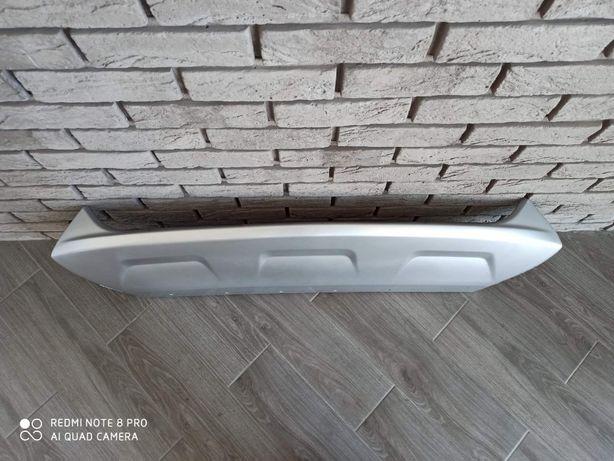 Форд Эскейп Ford Escape Kuga 2017 2018 - накладка переднего бампера