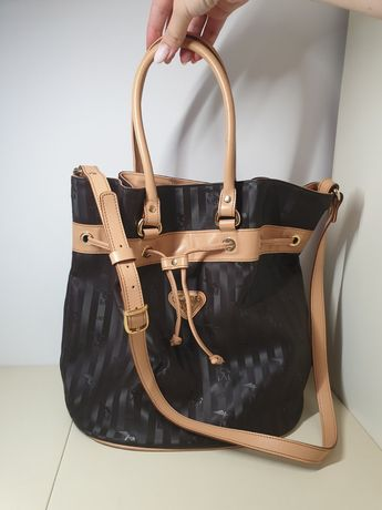 Дизайнерская сумка мешок maison mollerus сумка ведро тоут оригинал